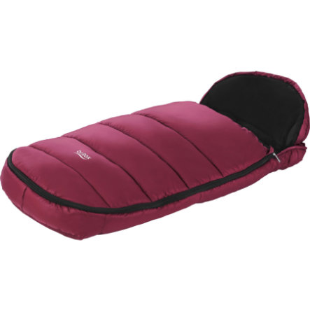 Britax Fußsack Shiny Wine Red
