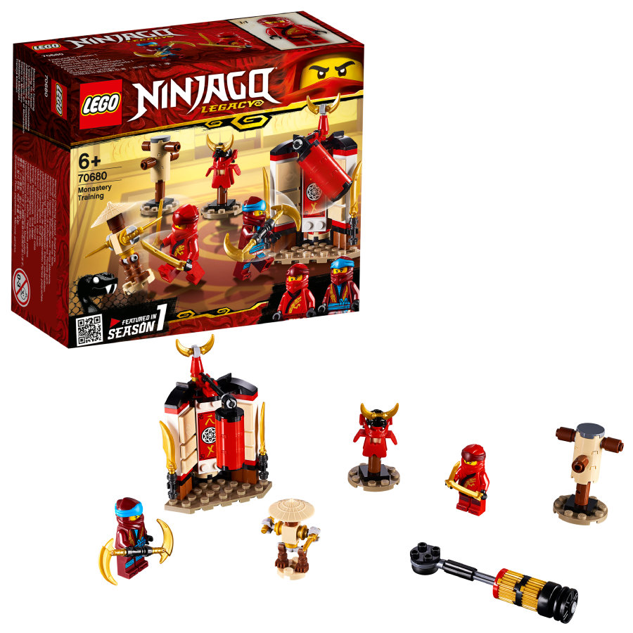 LEGO® NINJAGO Kloostertraining 70680