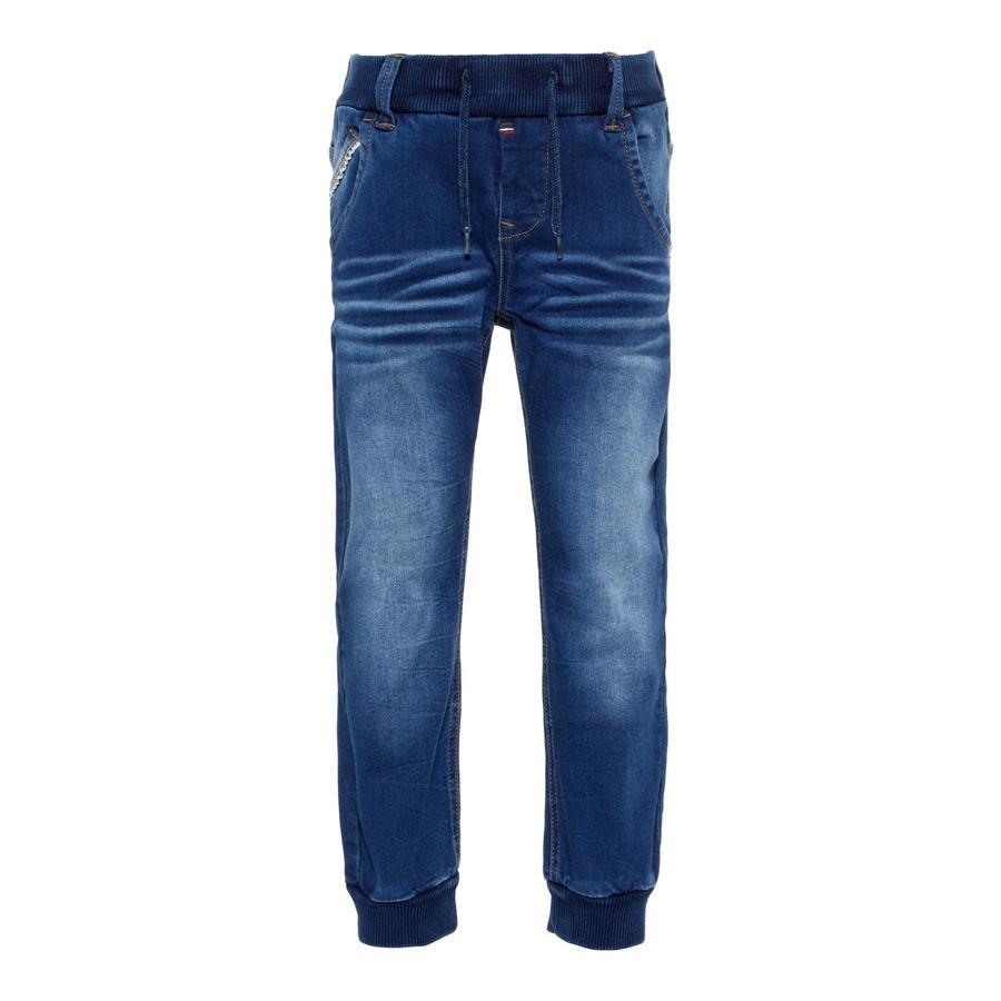 name it Jeans Bob średnio-niebieski denim.