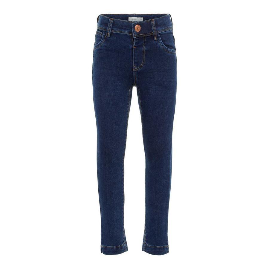 NAME IT tyttöjen Jeans Polly tummansininen farkku