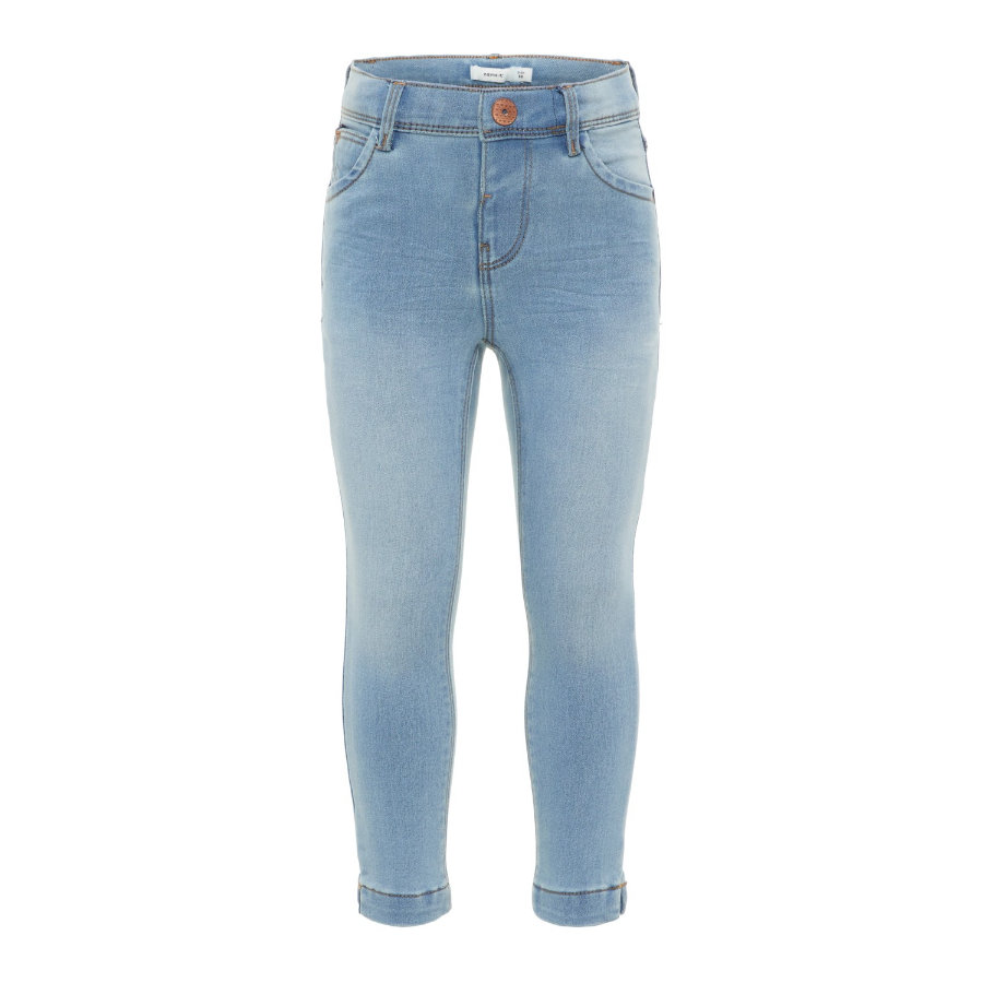 name it Girls Jeans Polly light blue denim