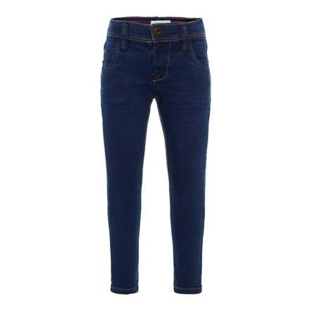 name it Boys Jeans Silas dark blue denim