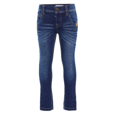 name it Boys Jeans Robin dark blue denim