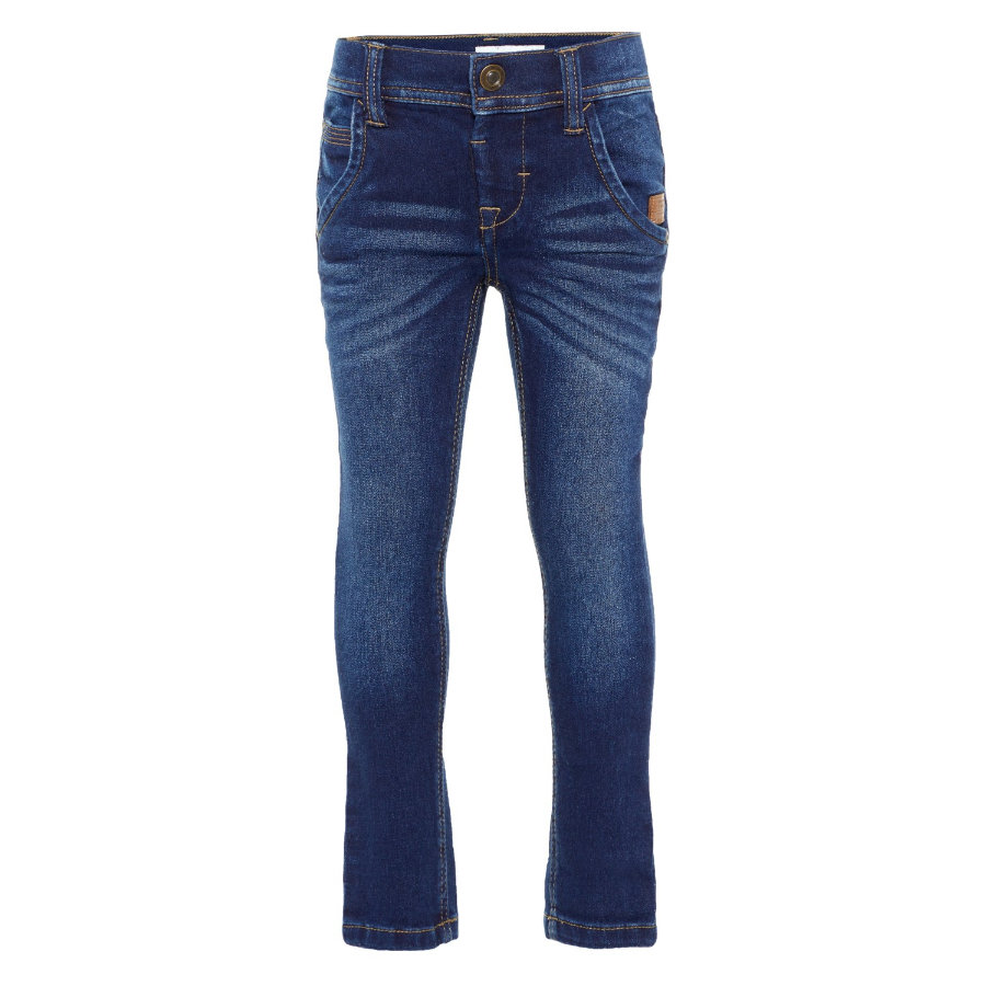 name it Boys Jeans Robin dark blue denim