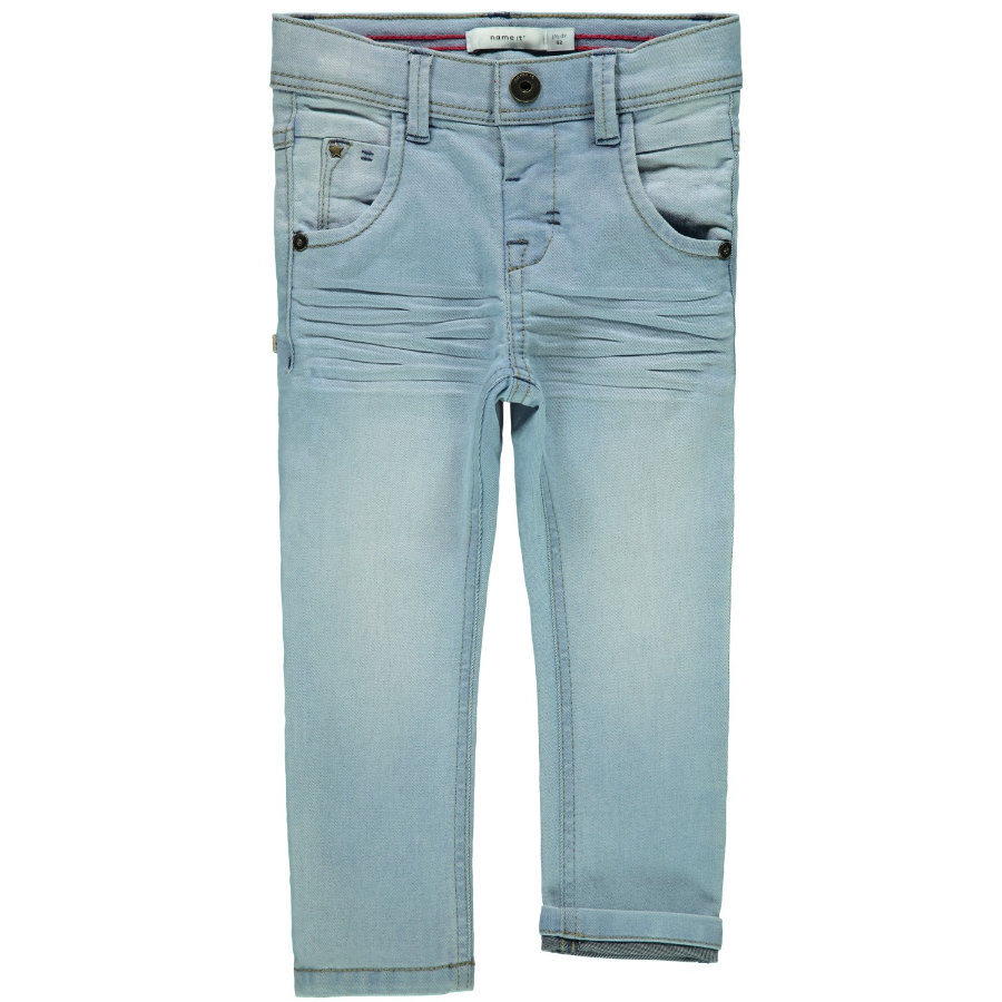 name it Boys Jeans Silas light blue denim