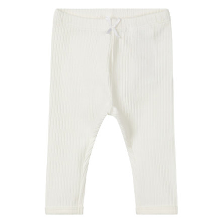 name it Boys Pantalon de survêtement Temolus blanc neige