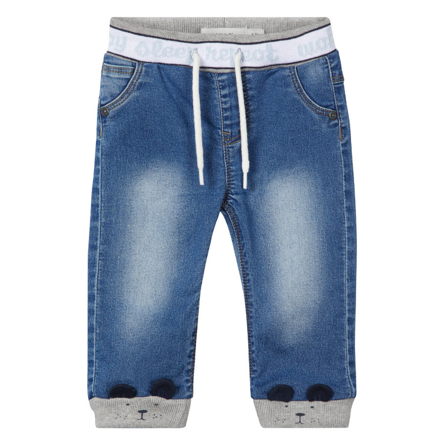 name it Boys Jeans Bob średnio-niebieski denim.