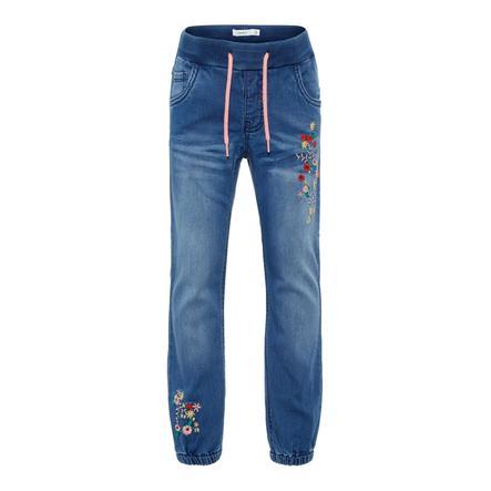 name it Girl s Jeans Rie denim azul medio