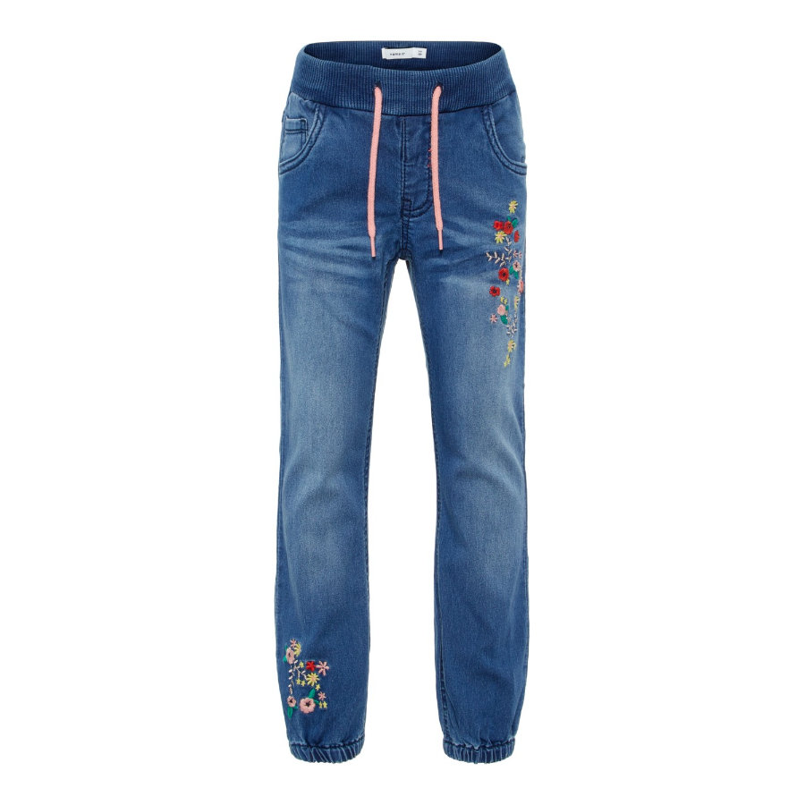 name it Girls Jeans Rie medium blue denim