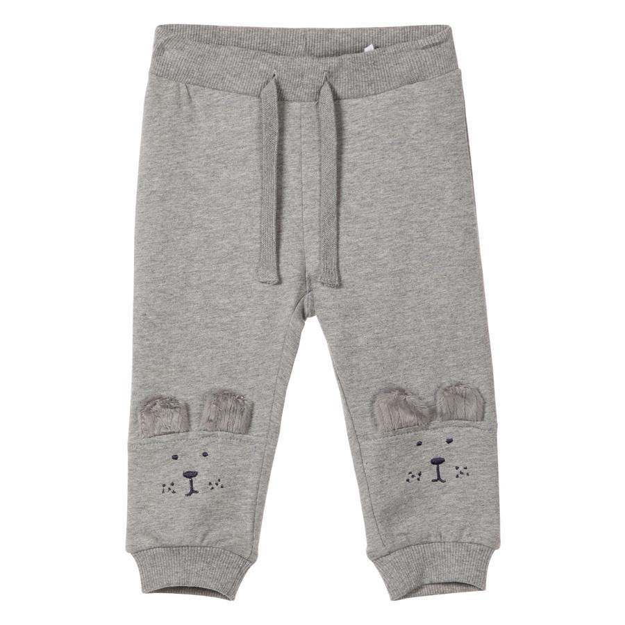 name it Pantalon de survêtement Uxobe gris mélangé