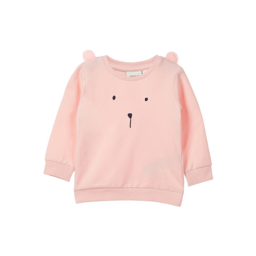 name it Girls Sweatshirt Beate strawberry cream