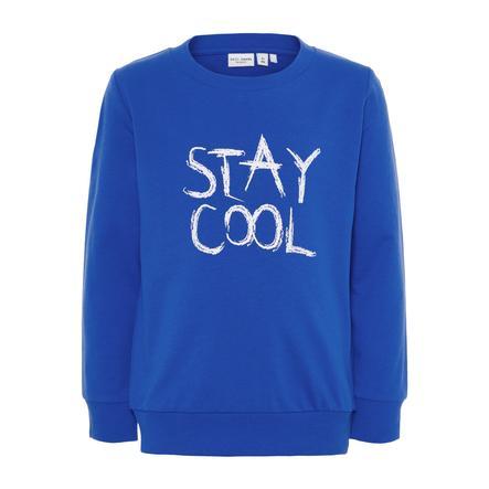 name it Boys Sweatshirt Vildar sterk blauw