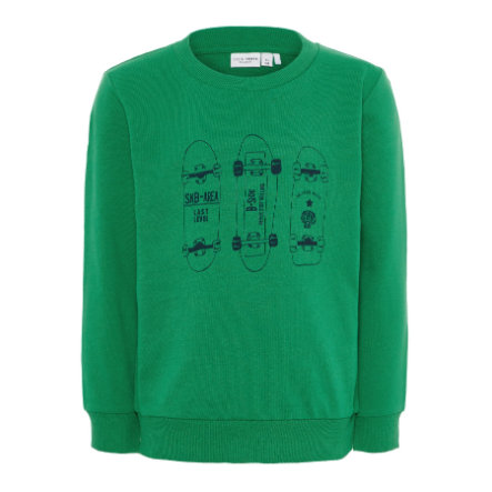 name it Boys Sweatshirt Vildar medium green