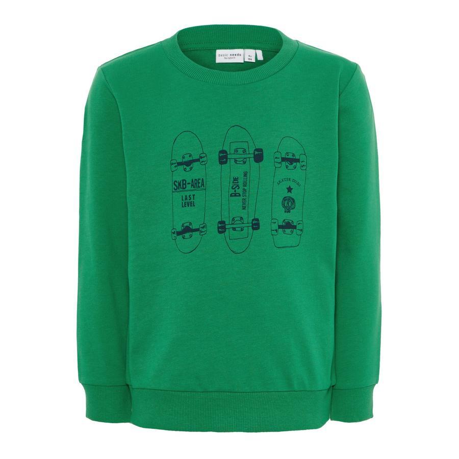name it Boys Bluza bluza Vildar średnio zielona