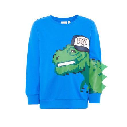 name it Boys Sweatshirt Barex bleu vif