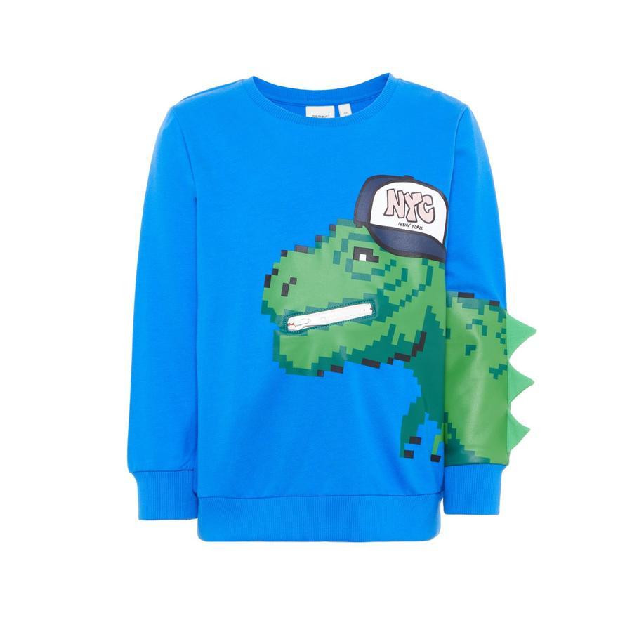 name it Boys Sweatshirt Barex sterk blauw