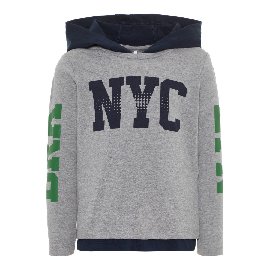 name it Boys Pullover Baklyn grey melange