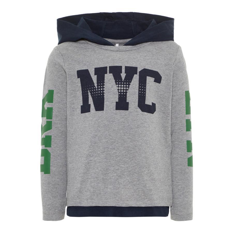NAME IT poikien Sweater Baklyn harmaa melange