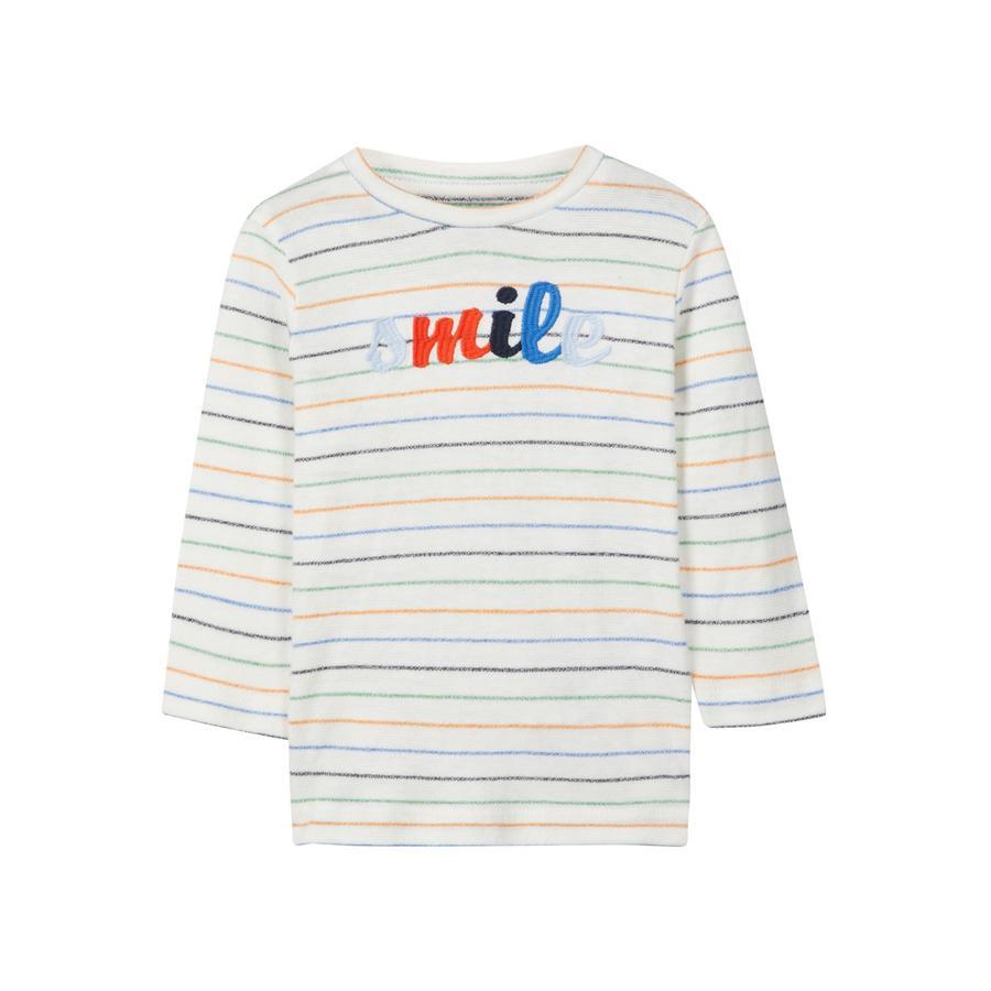NAME IT Poikien pitkähihainen paita Bessom lumivalkoinen