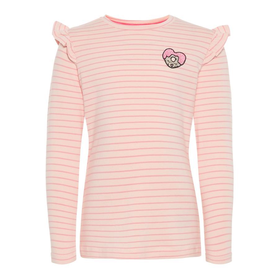name it Girls tričko s dlouhým rukávem Ba funny strawberry cream