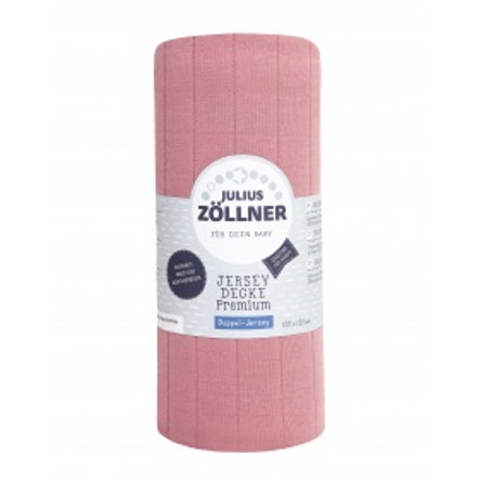 JULIUS ZÖLLNER Jersey coperta Premium Pearl 120x100 cm