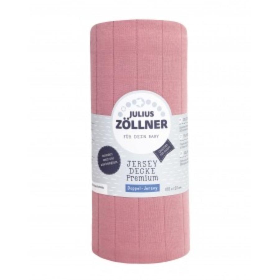 JULIUS ZÖLLNER Deken Jersey Premium Pearl 120x100 cm