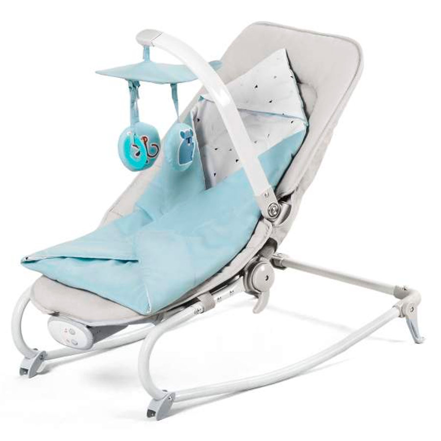 Kinderkraft skråstol Felio light blue