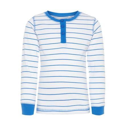 name it Boys Lange mouw shirt Bavilano sterk blauw
