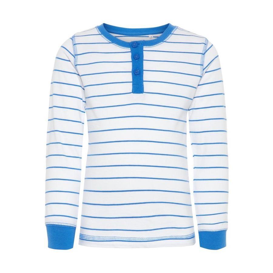 name it Boys Koszula z długim rękawem Bavilano mocny niebieski