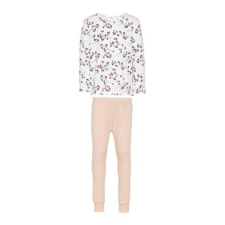 name it Girl pigiama s bianco brillante