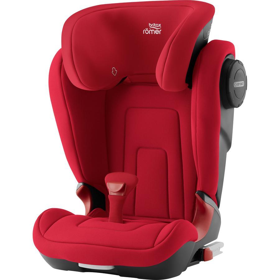 Britax Römer Silla de coche Kidfix 2 S Fire Red, rojo