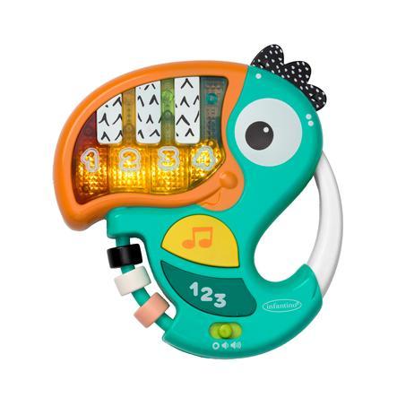 Infantino Jouet musical toucan piano et chiffres