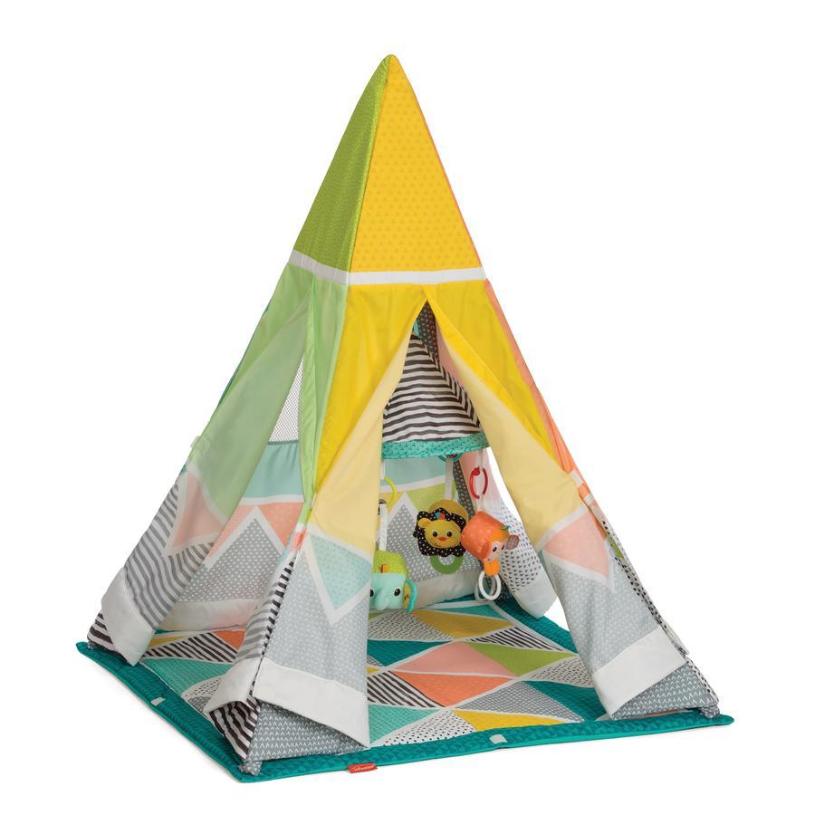 Infantino Tipi Safari Spielmatte mit Zelt