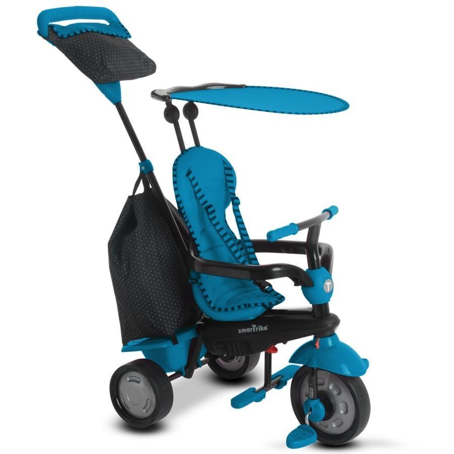 smarTrike® Spirit Touch Steering® tříkolka 4 v 1, modrá