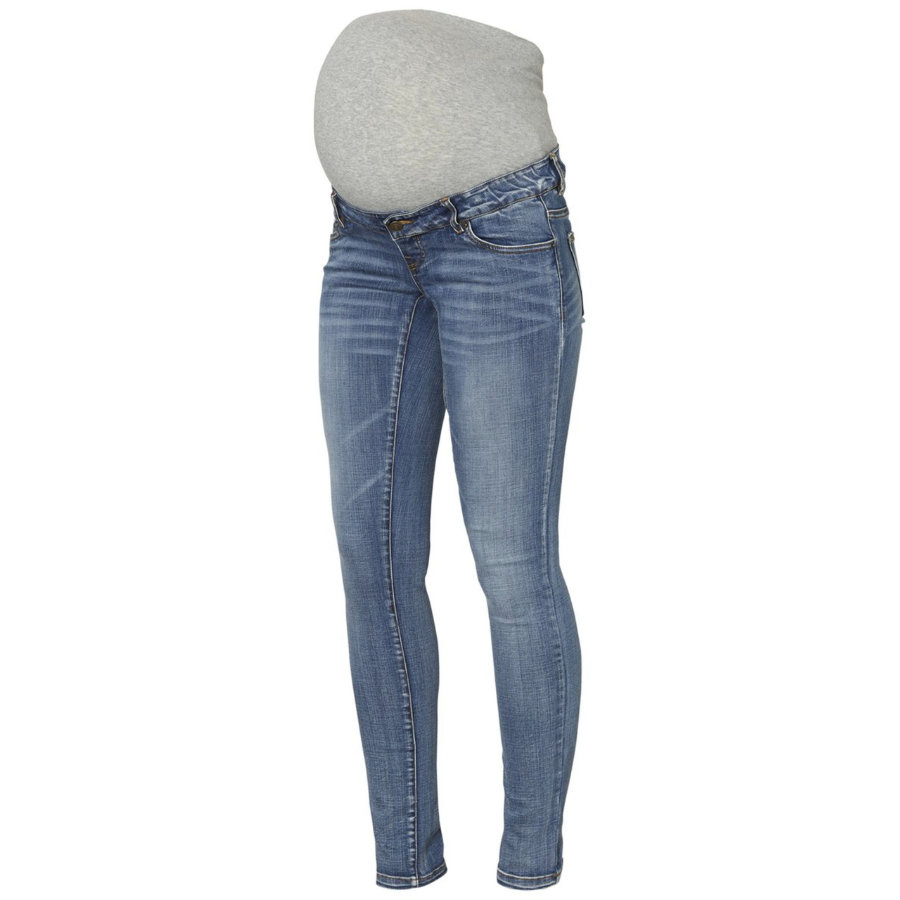 mama licious Umstandsjeans MLGOLDEN Light Blue Denim