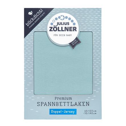 JULIUS ZÖLLNER Spannbetttuch Premium Greenery 70x140cm
