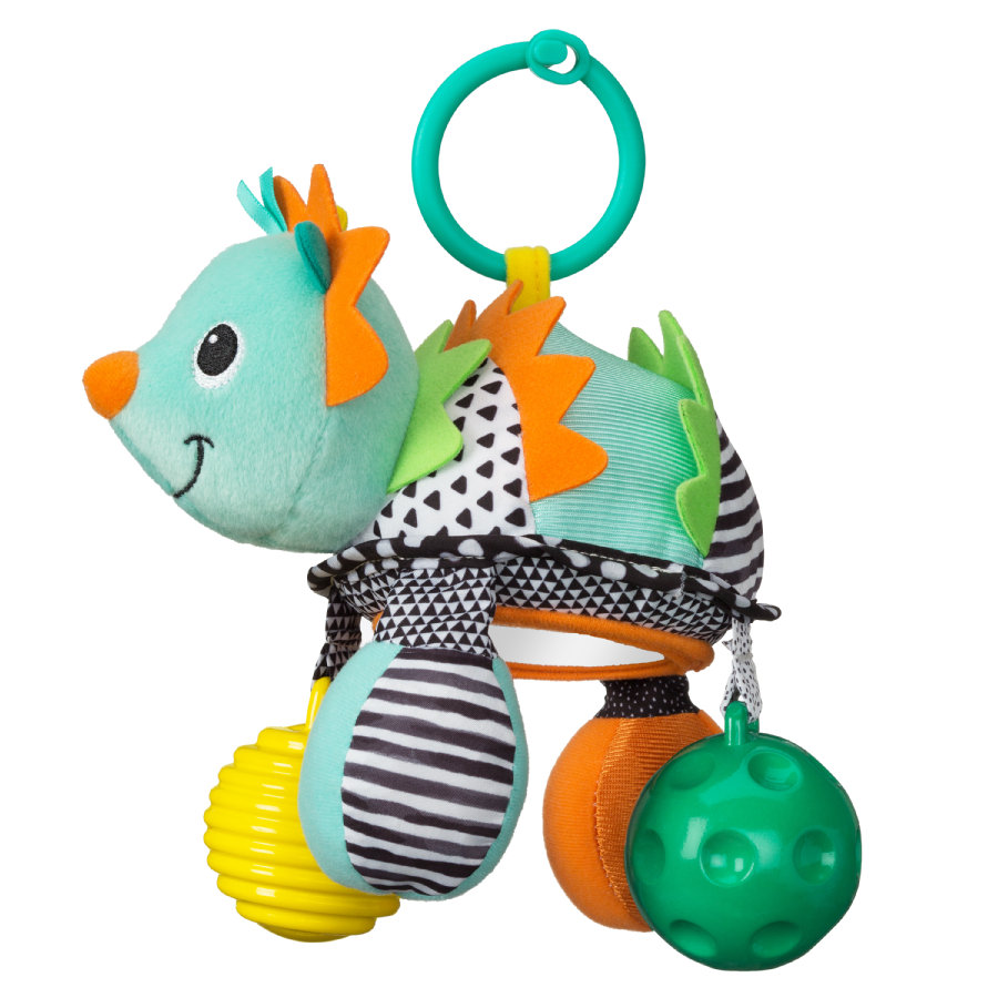 Infantino Hanger Egel met rammelaar