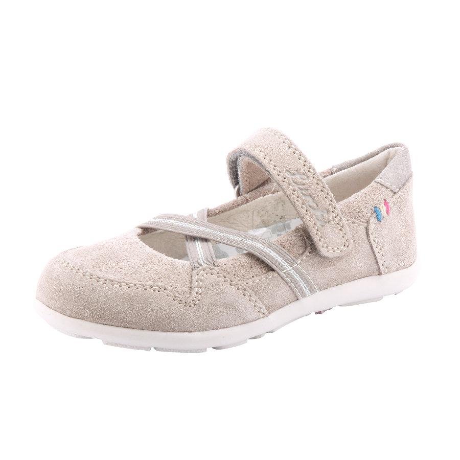 Lurchi Girls Ballerinas MAIKE light grey