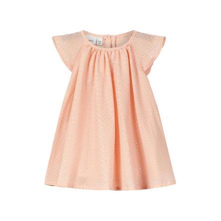 name it Girl s dress Frafilly rose nuage Frafilly
