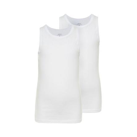 name it Girls Tanktop 2er Pack white