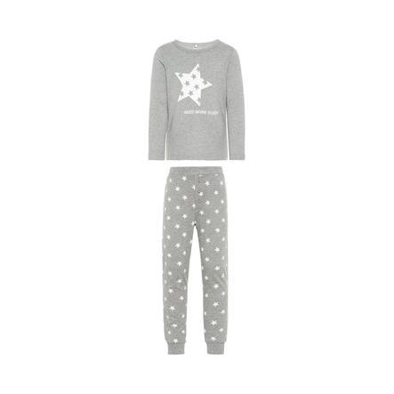 name it Boys Pyjama 2 pièces Ramisto gris mélangé