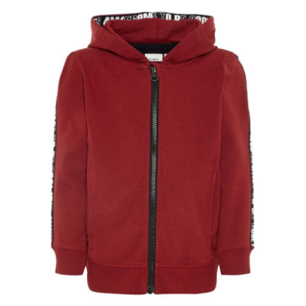 name it Boys Sweatjacke Ramon ruby wine