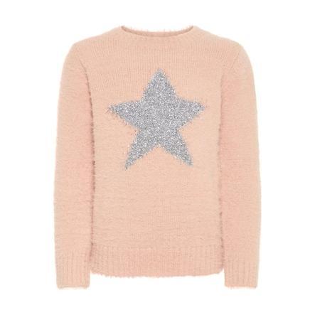 name it Girls Sweater Nmfrazia rose cloud