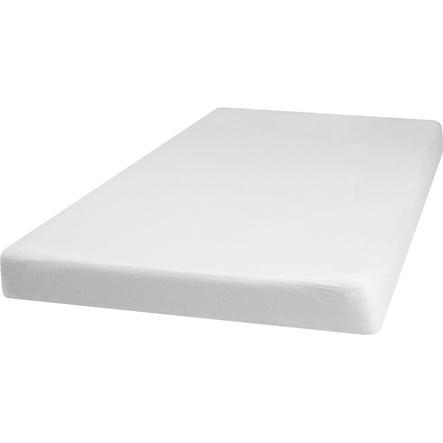 Playshoes Molton Spannbettlaken 70x140cm weiß