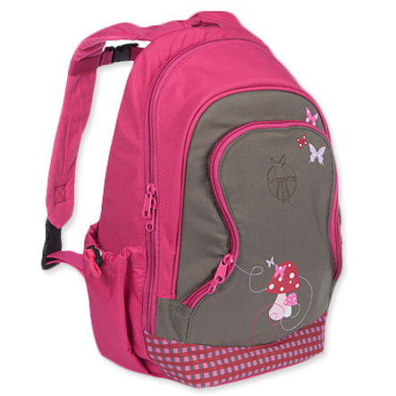LÄSSIG Mini Backpack Big Mushroom magenta