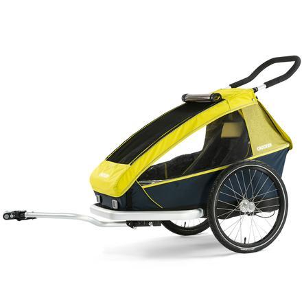 CROOZER Rimorchio per bici Kid for 1 Lemon green