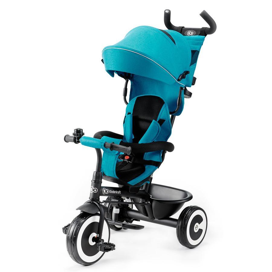 Kinderkraft 6 Triciclo ASTON, turquesa