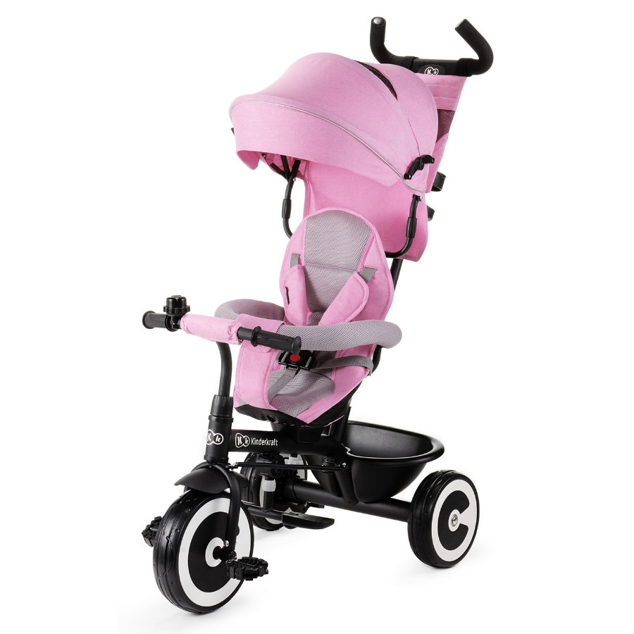 Kinderkraft Tricycle évolutif ASTON 6, rose