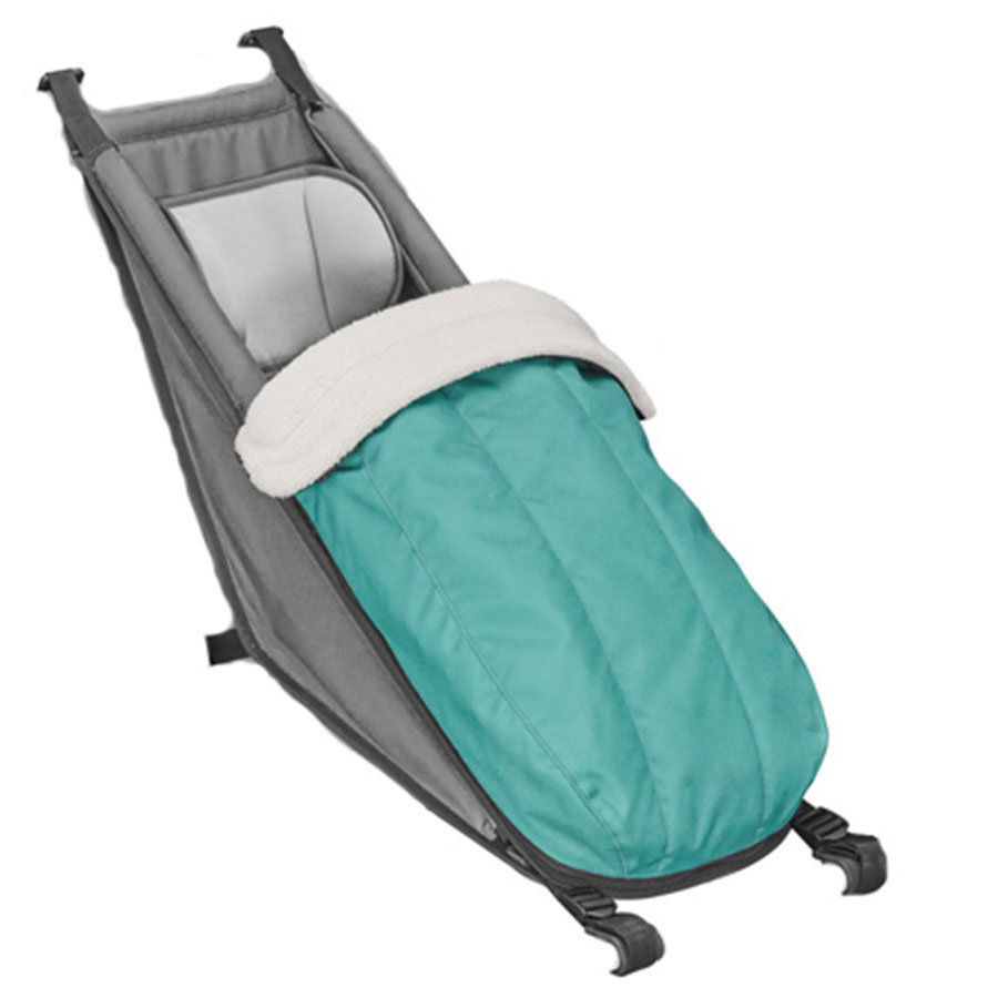 CROOZER Winter -set per il Baby sedile Arctic green