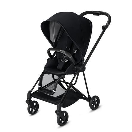 cybex PLATINUM Kinderwagen Mios - Rahmen Matt Black inklusive Sitz in Premium Black